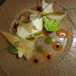 Saumon mariné (menu à 29 €)