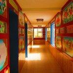 The corridor of the Inn