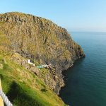 Carrick-A-Rede Rope Bridge view