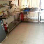 套房廚房很大