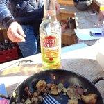 trioler grostl & a Beer! ;)