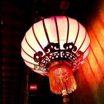 Chines lamp in the restaurant :-) / Lampa w Restauracji
