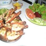 lagosta grelhada no Restaurante do Bigode