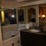 Tub in Bedroom