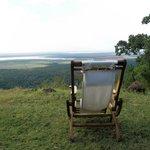 Lake Manyara e noi sopra Rift Valey