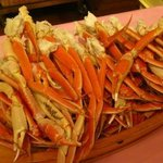Crabs legs - Dinner buffet
