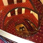 staircase topview