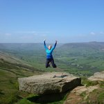 It's good to be alive when you walk in the Peak District