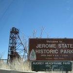 Entrance to Jerome State Historic Park