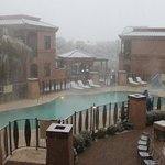 Snowing in Tucson