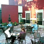 New Orleans style relaxing courtyard