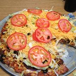 pizza - Beef Taco