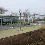 2013-03 Cafe Kellerhaus mit Terrasse, wunderbarer Blick auf Schloss Weissenste