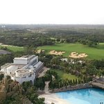 wave pool , mineral springs , Blackstone golf course : a room with a view