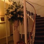 beautiful staircase - main house