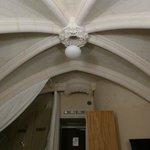 le plafond de la chambre