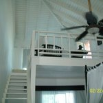 Upper Loft of Honeymoon Suite