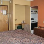 Room with King Bed, bathroom off to right