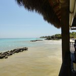 View of beach from Blue Marlin