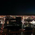 View from the stratosphere tower
