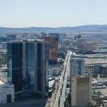 View of the strip from the Stratosphere tower