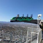 One of the rides on the top of the stratosphere
