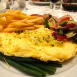 smoked fish omlette