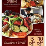Tandoori Grill Lake George Ad in Clipper Magazine in Feb 2013