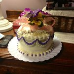 the cake Kathy made