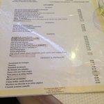 Carte Café Barjot