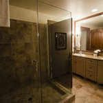 Master bathroom & shower, very spacious
