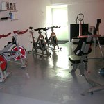 our fitness with spinbikes and indoor rower