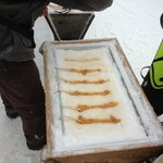 Make sure to have one..Maple syrup on snow :)