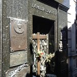 Where Eva Peron is buried Buenos Aires