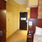 bed to door