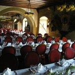Burg Colmberg Banquet hall