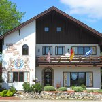 Frankenmuth clock shop in town