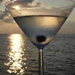 Martini at Sunset Bar