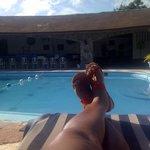 Poolside....