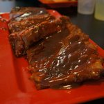 BBQ Ribs, very tender and tasty