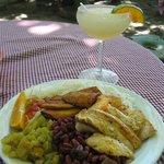 Fish Casado and Margarita
