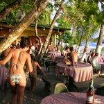 Balu's Beach Bar at sunset