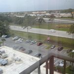 View from our 9th floor room towards I-4
