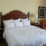 Nice King Bed in our room