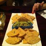 Entrée guacamole + chips