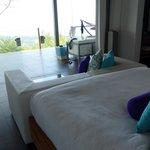 room overlooking terrace