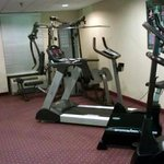 OK fitness room, enough to get by and clean