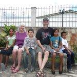 Visiting our sponsor children @ Children International site in Copan