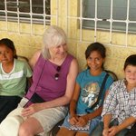 Visiting our kids in Copan