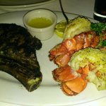 $99 special Delmonico ribeye and lobster tails